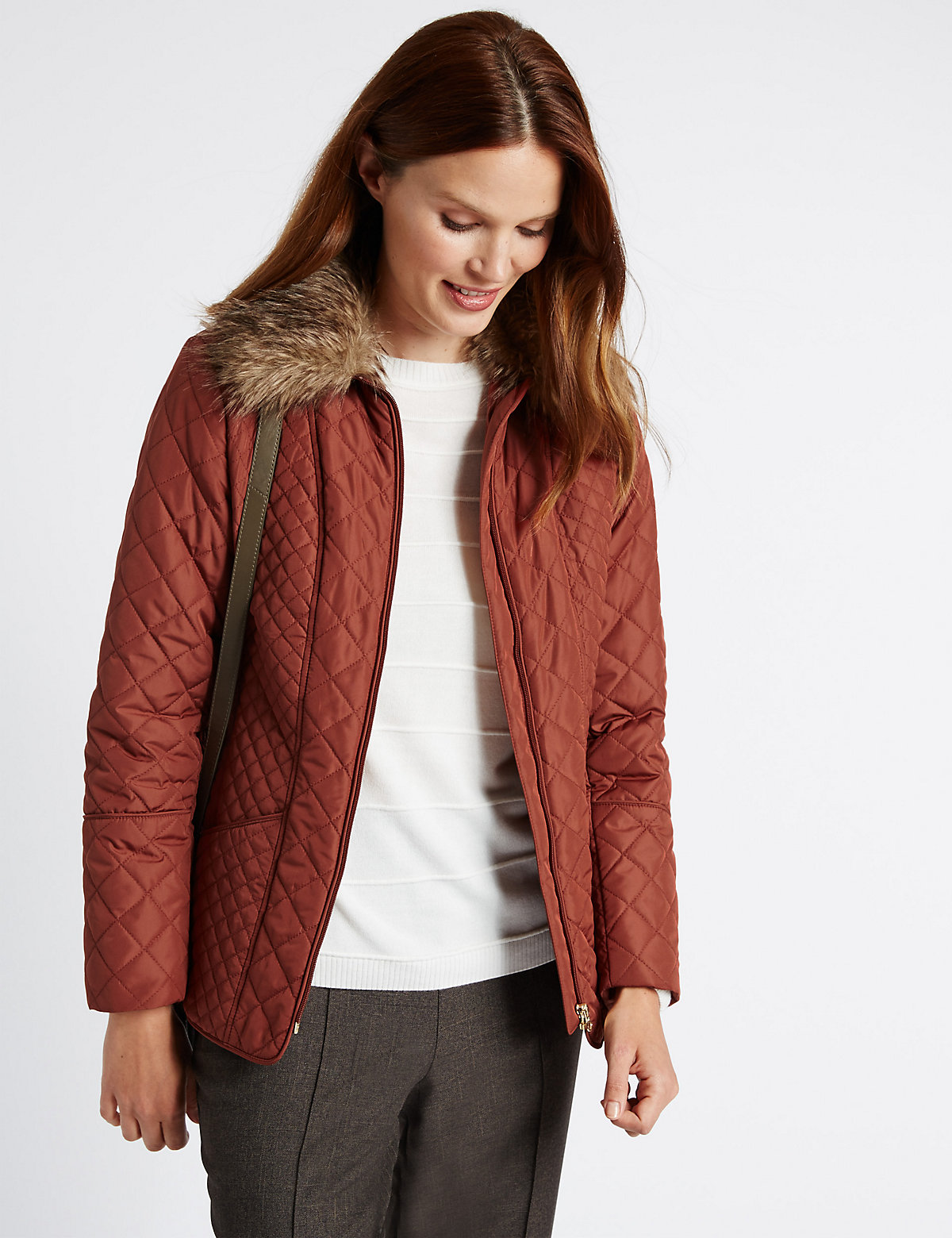 Classic Quilted and Padded Coat with Stormwear