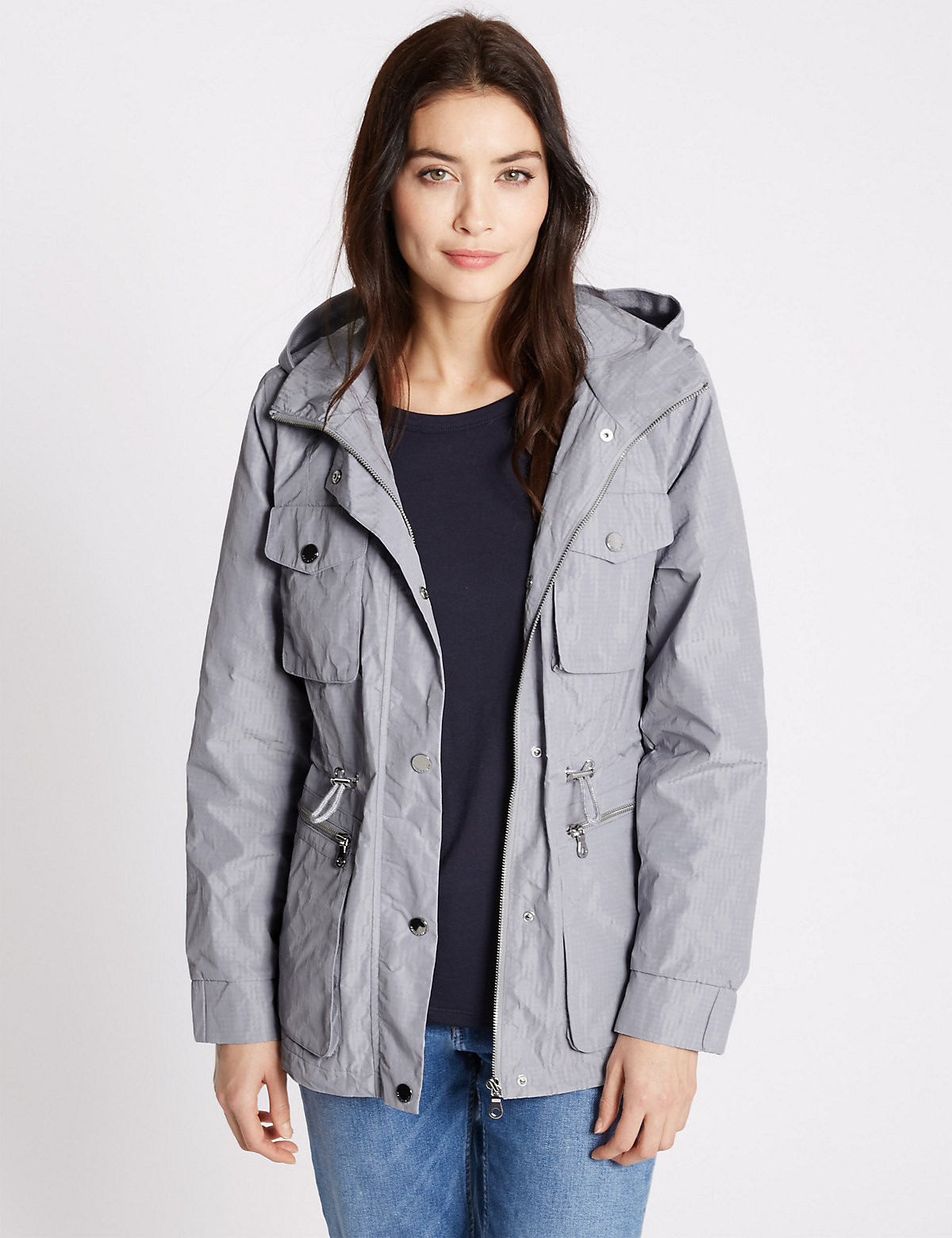 M&S Collection Anorak Jacket with Stormwear