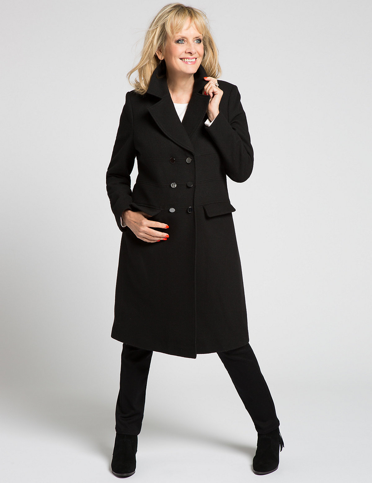 Classic Twill Long Coat