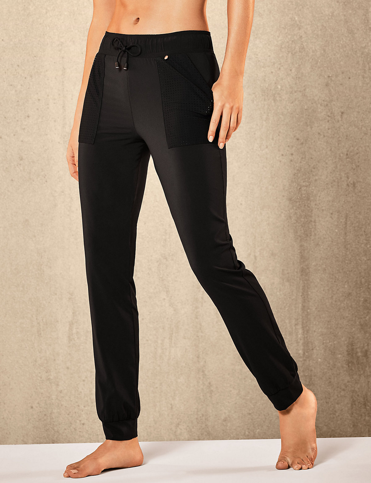 Rosie for Autograph Active Woven Punch Hole Joggers