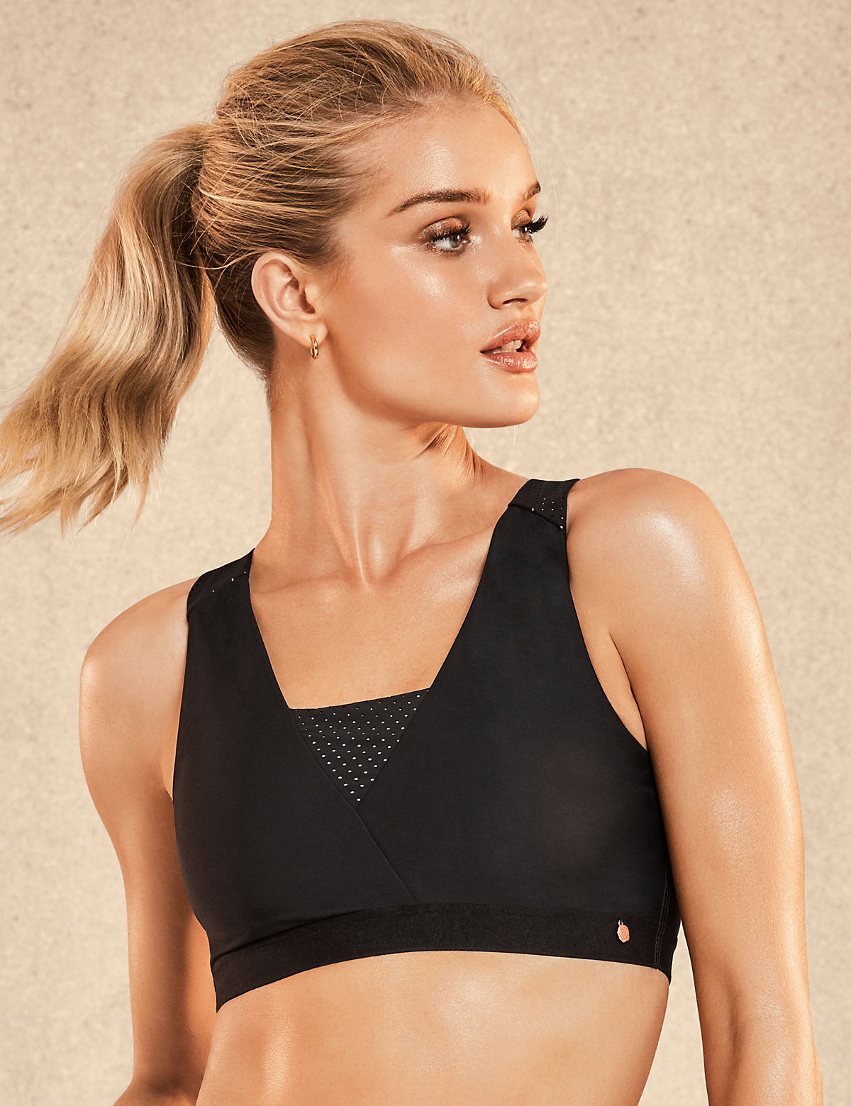 Rosie for Autograph Active Medium Impact Crop Top