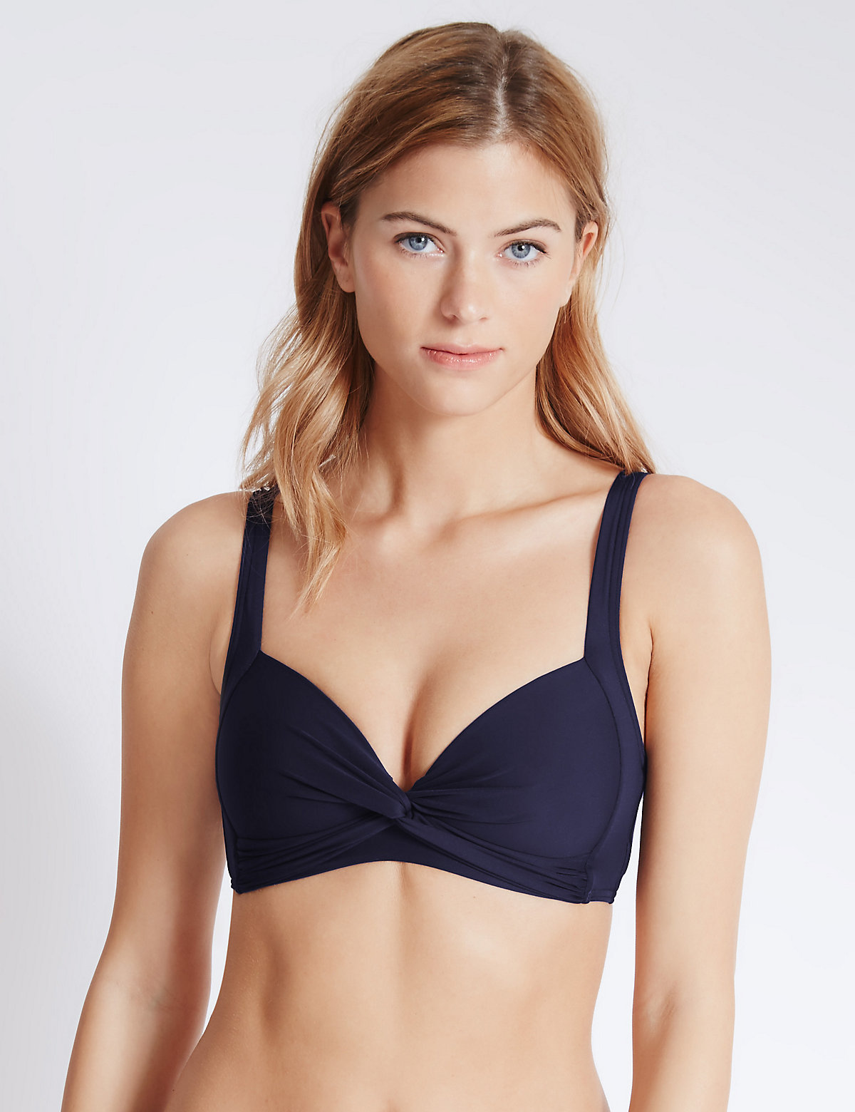 MS Collection Padded Bikini Top Marks and Spencer P22493165