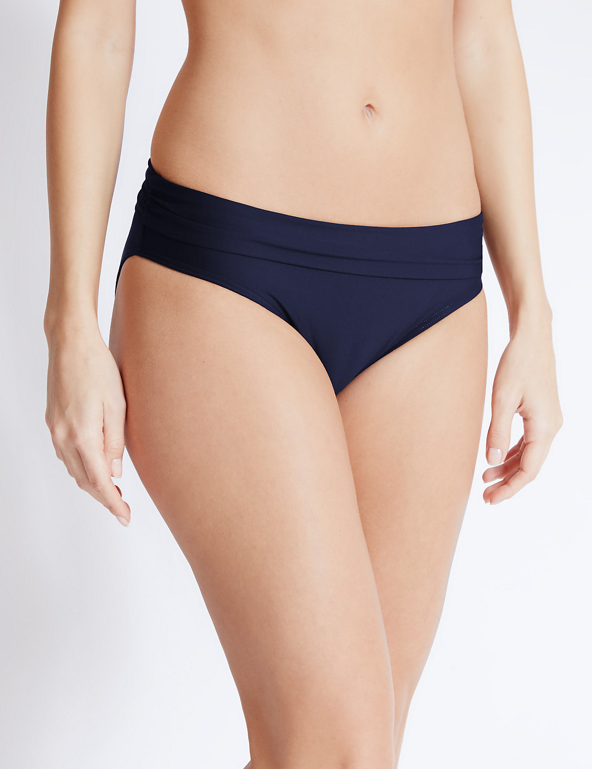 M&S Collection Rollon Hipster Bikini Bottoms