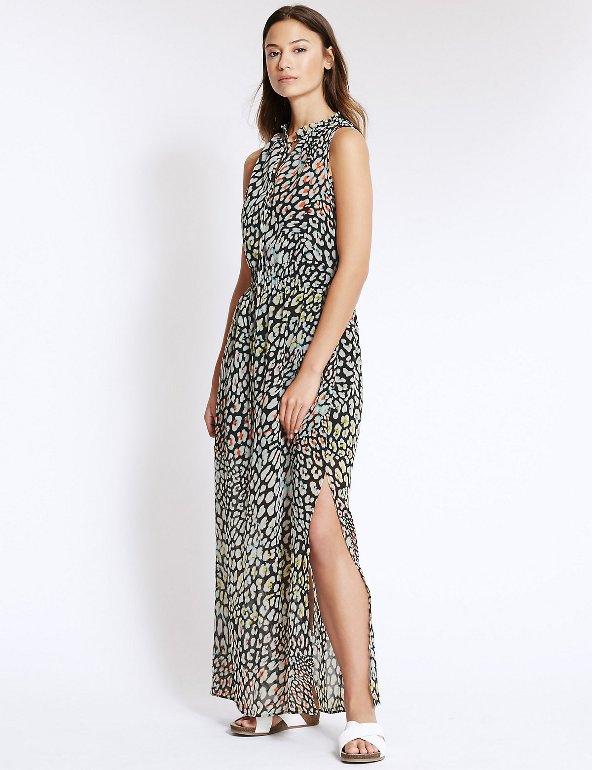 Speckled Maxi Dress