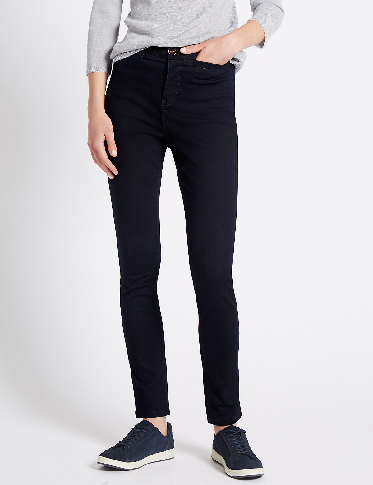 Per Una Roma Rise Holding Power Straight Leg Jeans