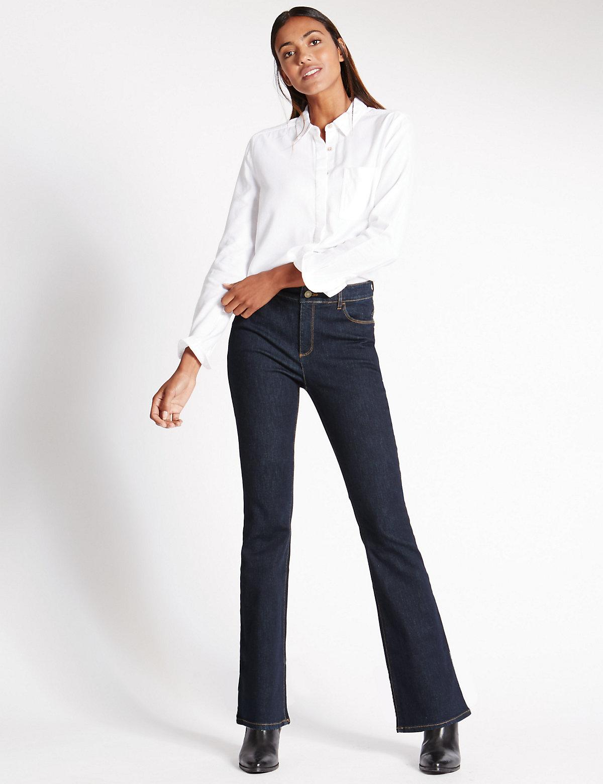 M&S Collection Sculpt & Lift Boot Cut Jeans
