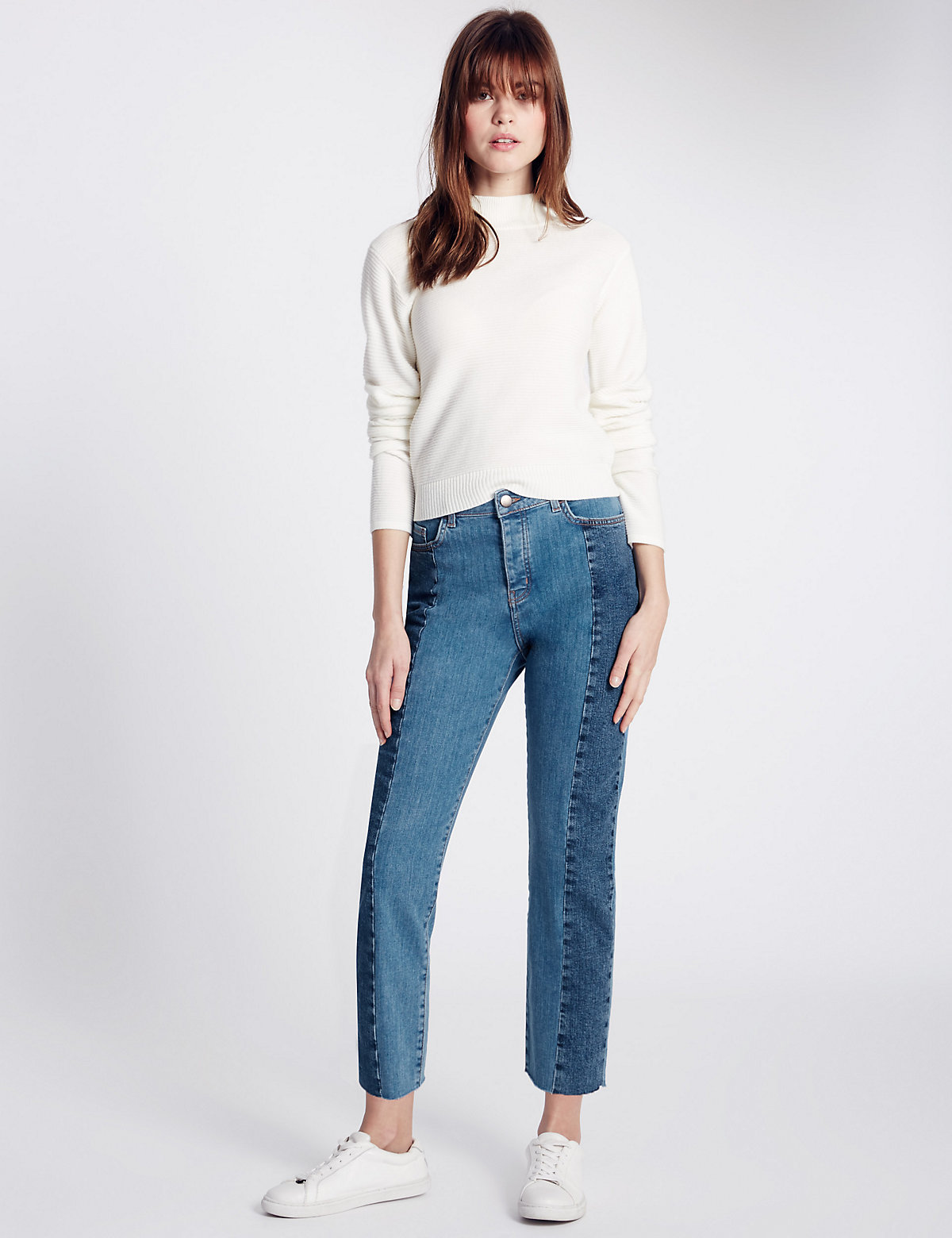 Limited Edition Seam Straight Leg Jeans