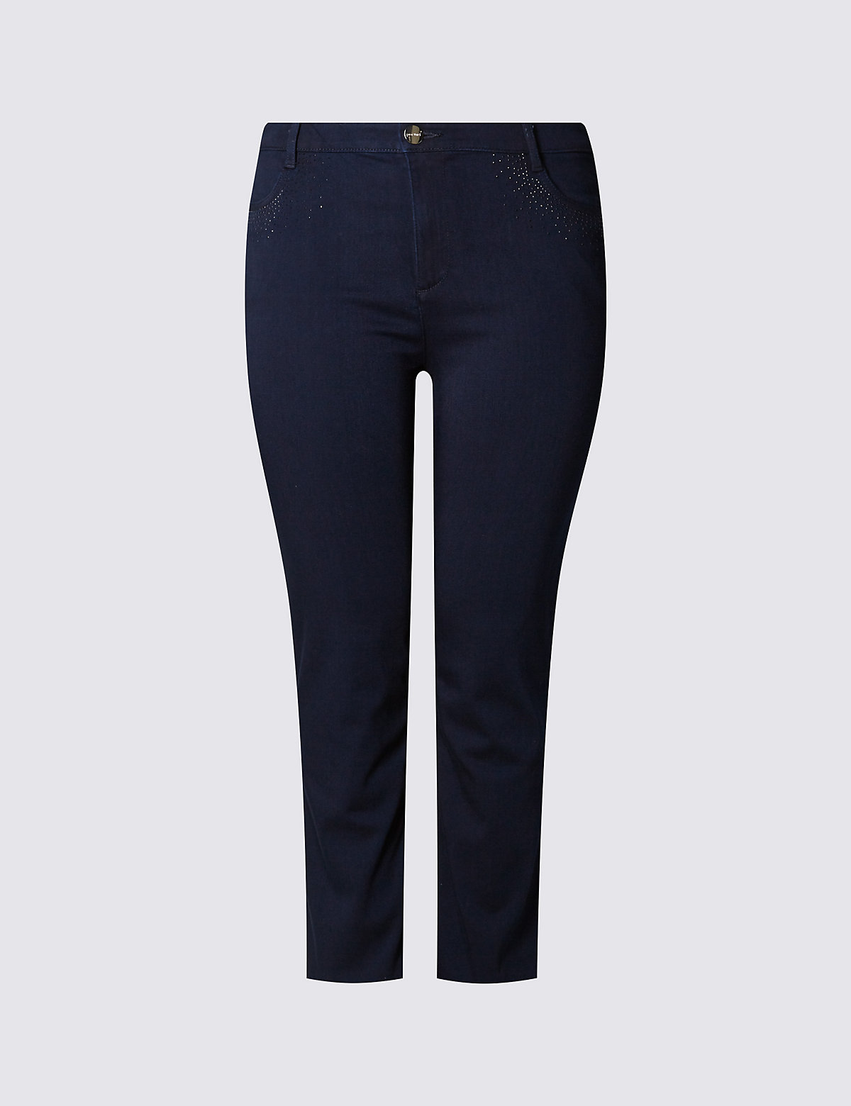 M&S Collection PLUS Straight Leg Jeans