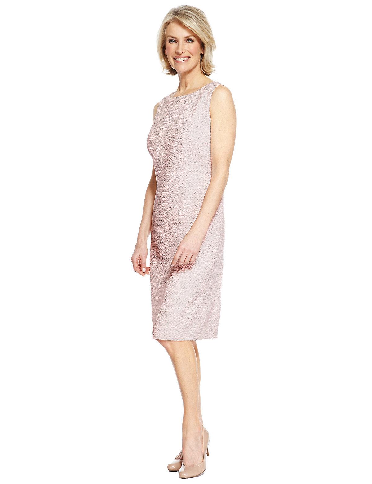 Classic Jacquard Shift Dress