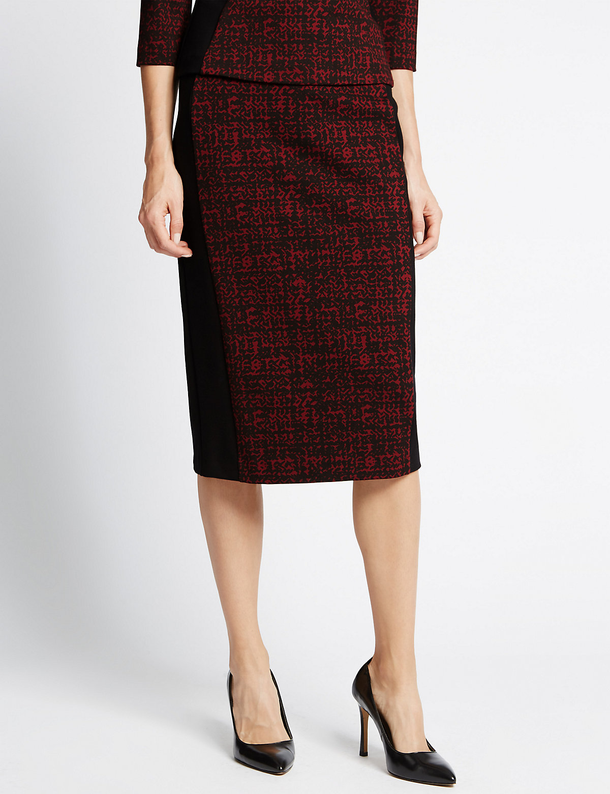 M&S Collection Bodycon Midi Skirt