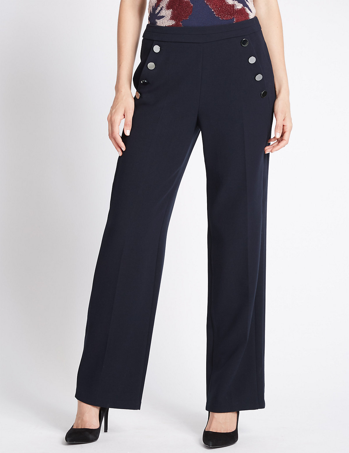 Per Una Wide Leg Sail Trousers