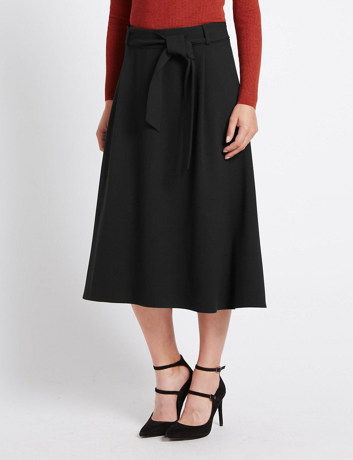 M&S Collection Midi Skirt
