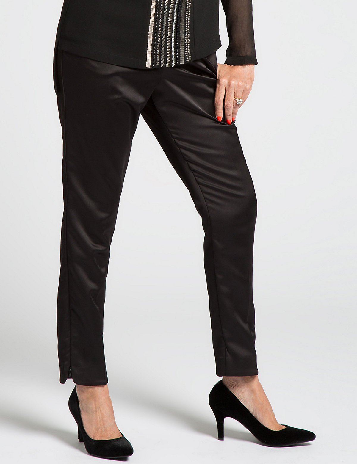 Designed by Twiggy for Classic Straight Leg Trousers