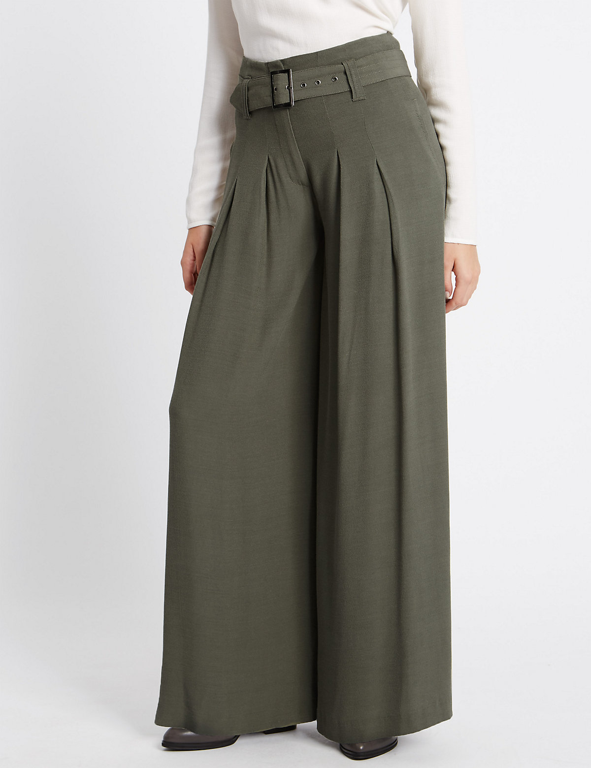 M&S Collection Betty Wide Leg Trousers