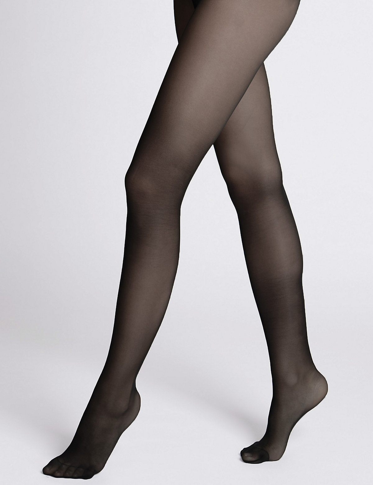 Autograph 10 Denier Cool Comfort Ladder Resist Moisturising Matt Tights