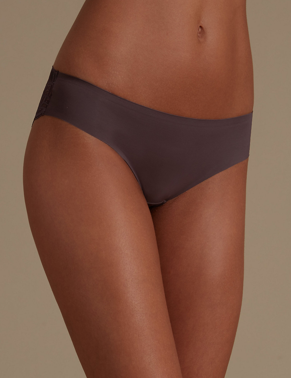 M&s Collection Smooth Lines Brazilian Knickers