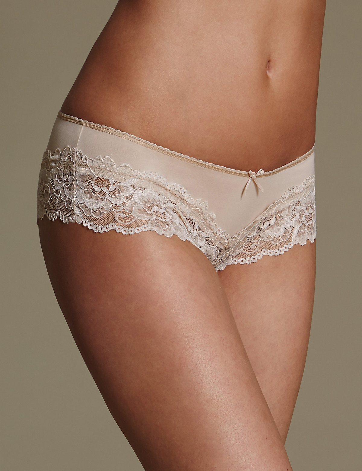M&s Collection Lace Brazilian Knickers