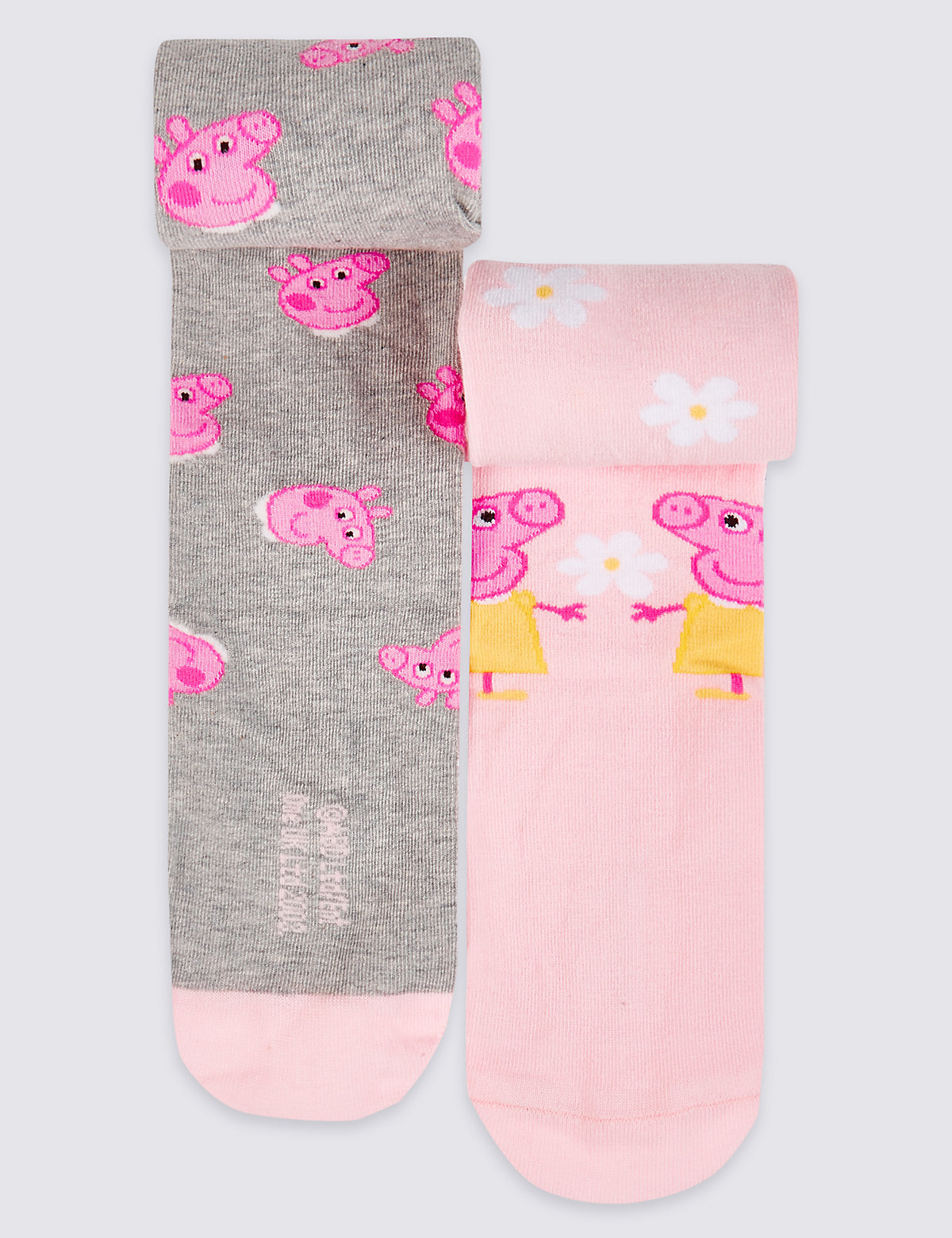 2 Pairs of Peppa Pig Tights (28 Years)