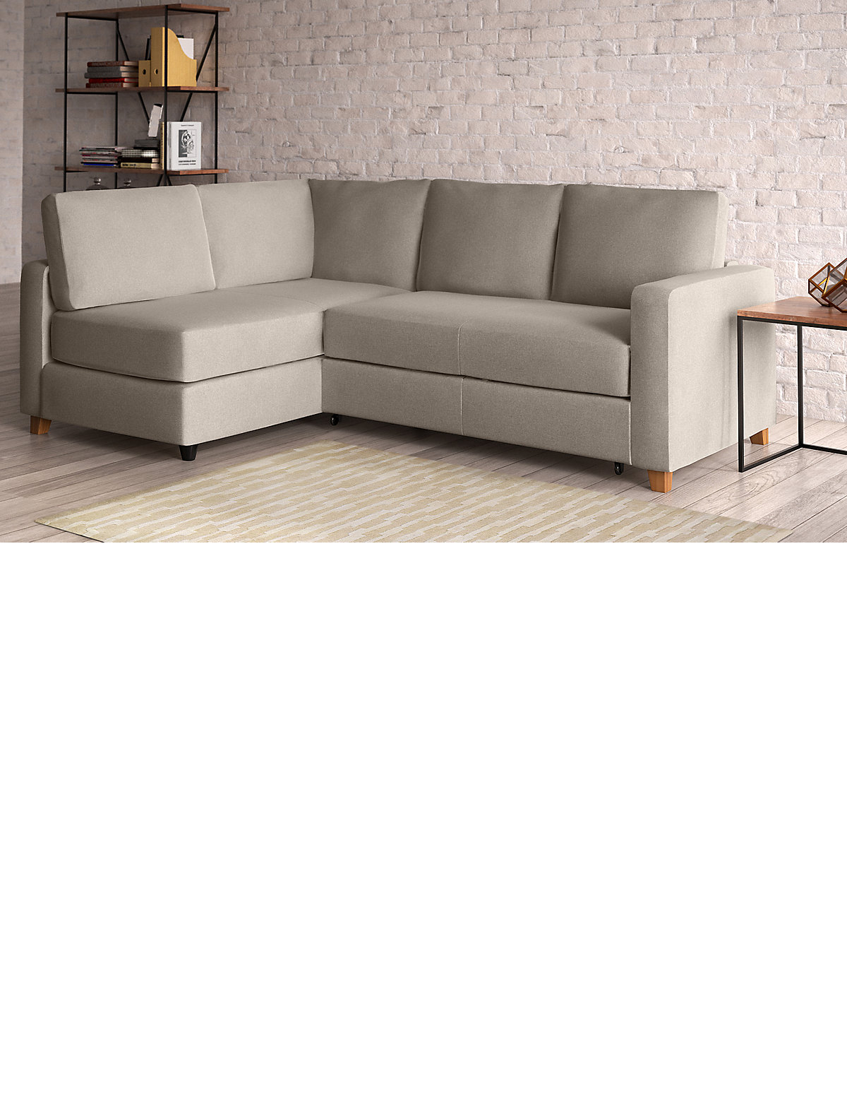Corner chaise lounge sofa bed 100 space sofa sak corner for Argos chaise longue sofa bed