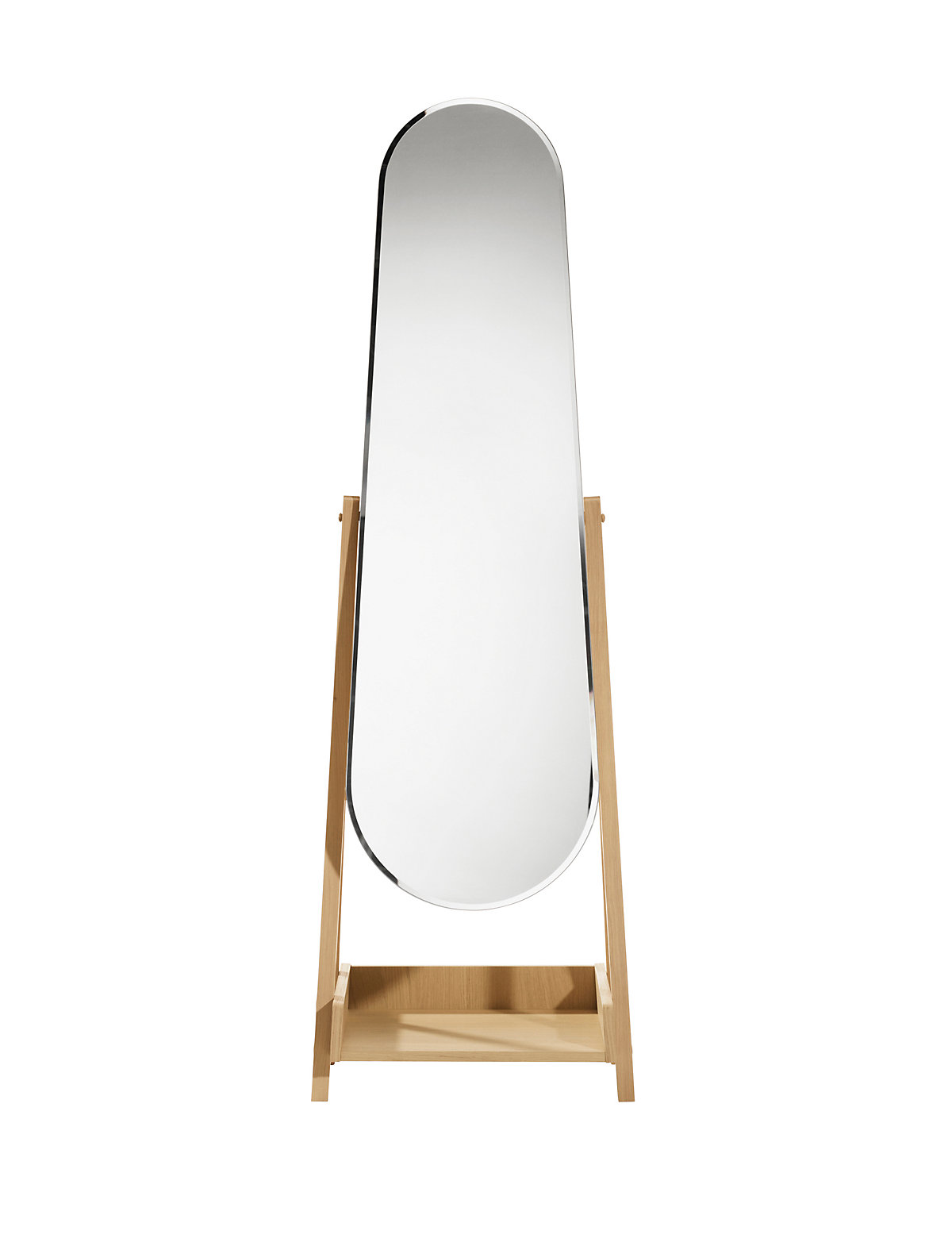 Free standing mirror shop for cheap house accessories for Mirror 40cm wide