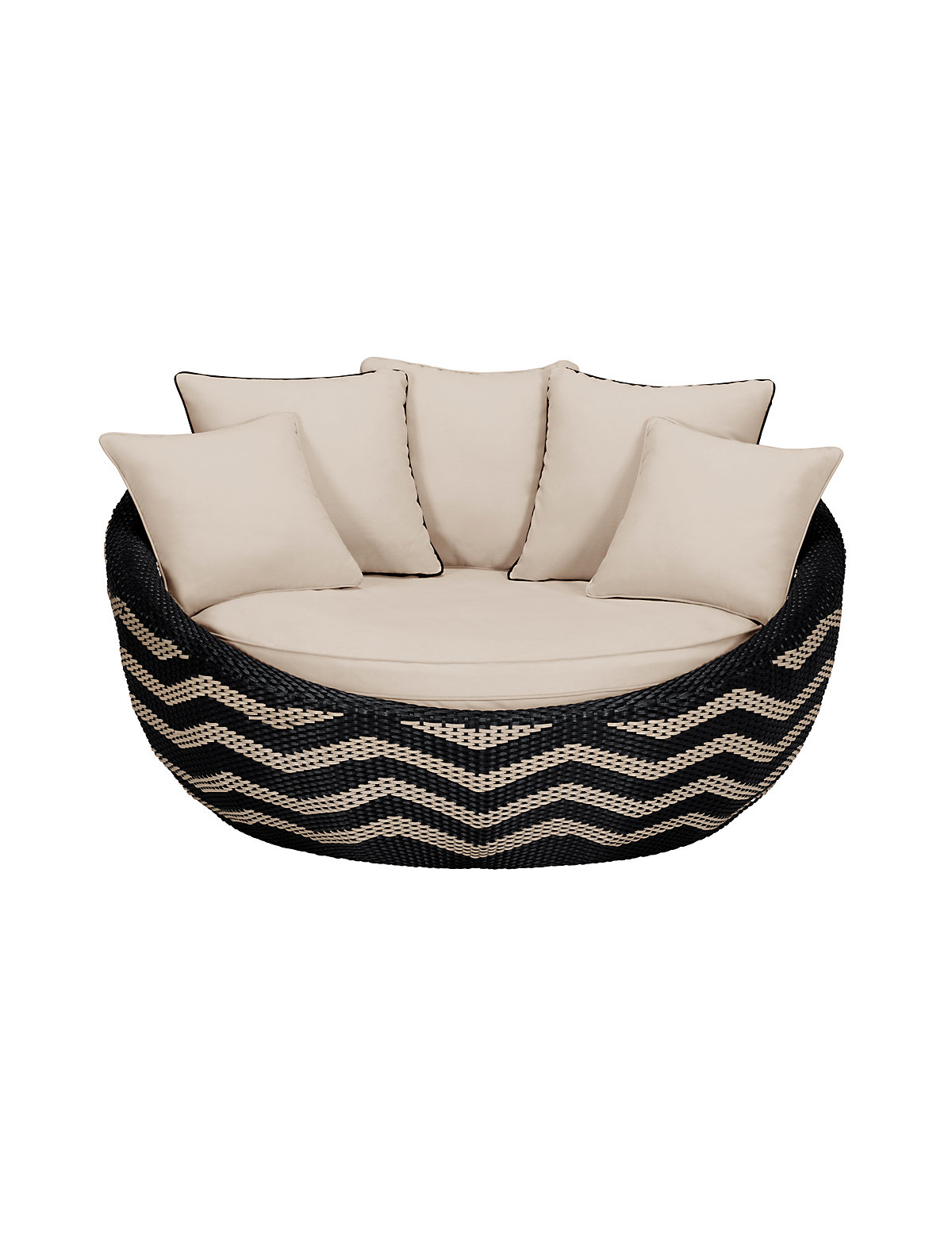 Navita Zigzag Day Bed