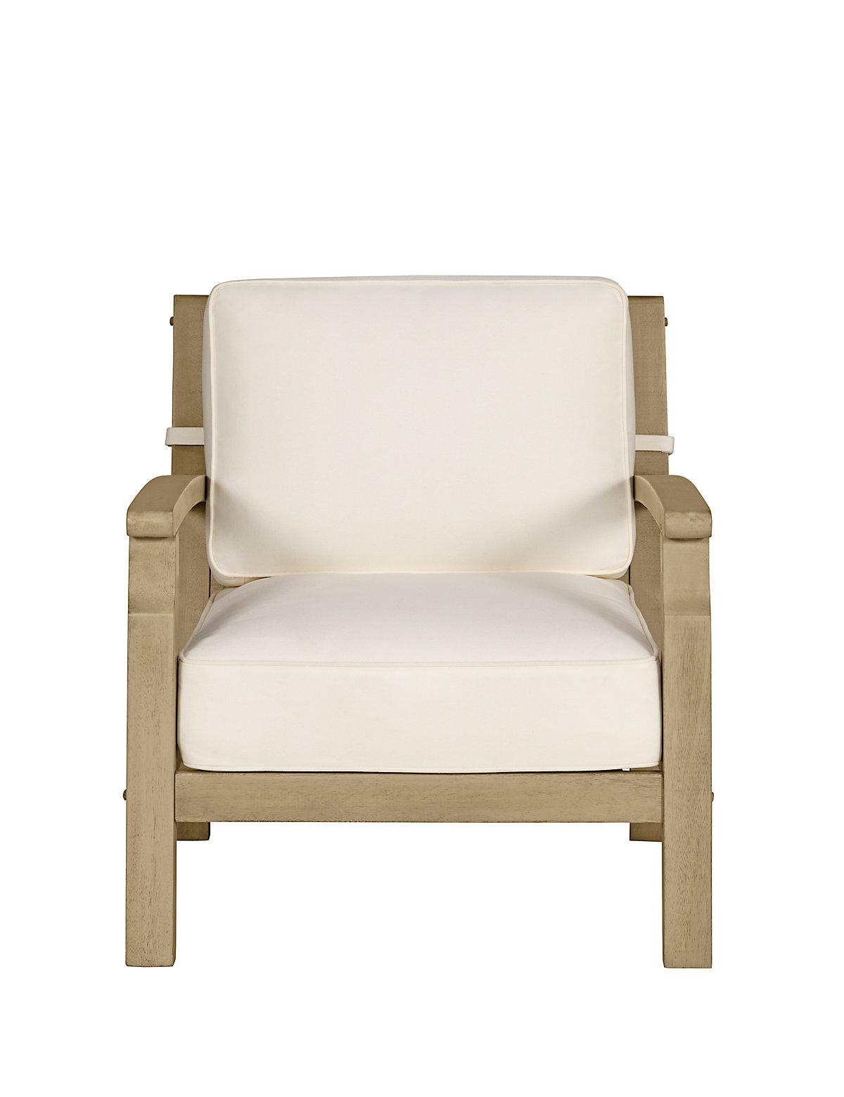 Marks and spencer dahlia cream armchair for Cream armchair