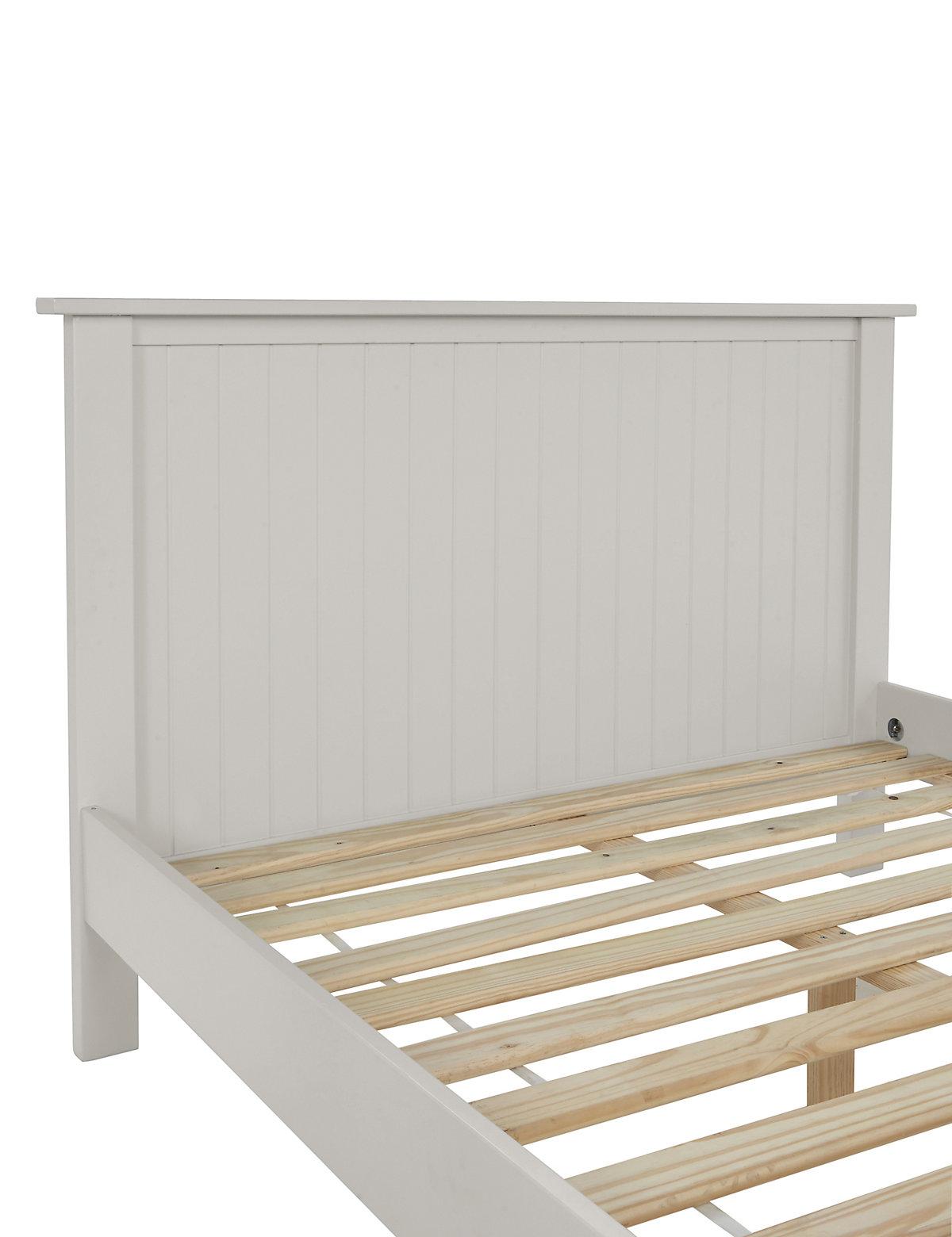 Marks and spencer dawson grey bed frame for Kids white bed frame