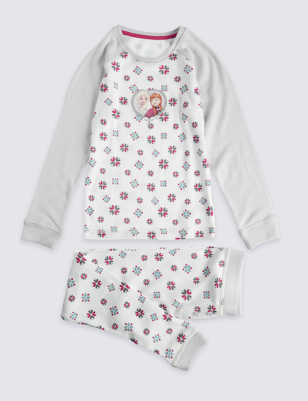 Disney Frozen Long Sleeve Thermal Set (18 Months  7 Years)