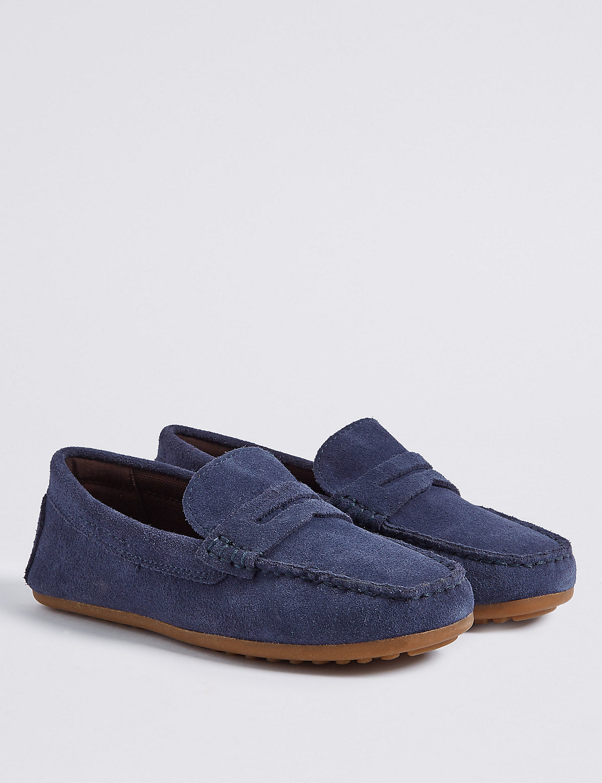 Image of Kids' Suede Driving Shoes