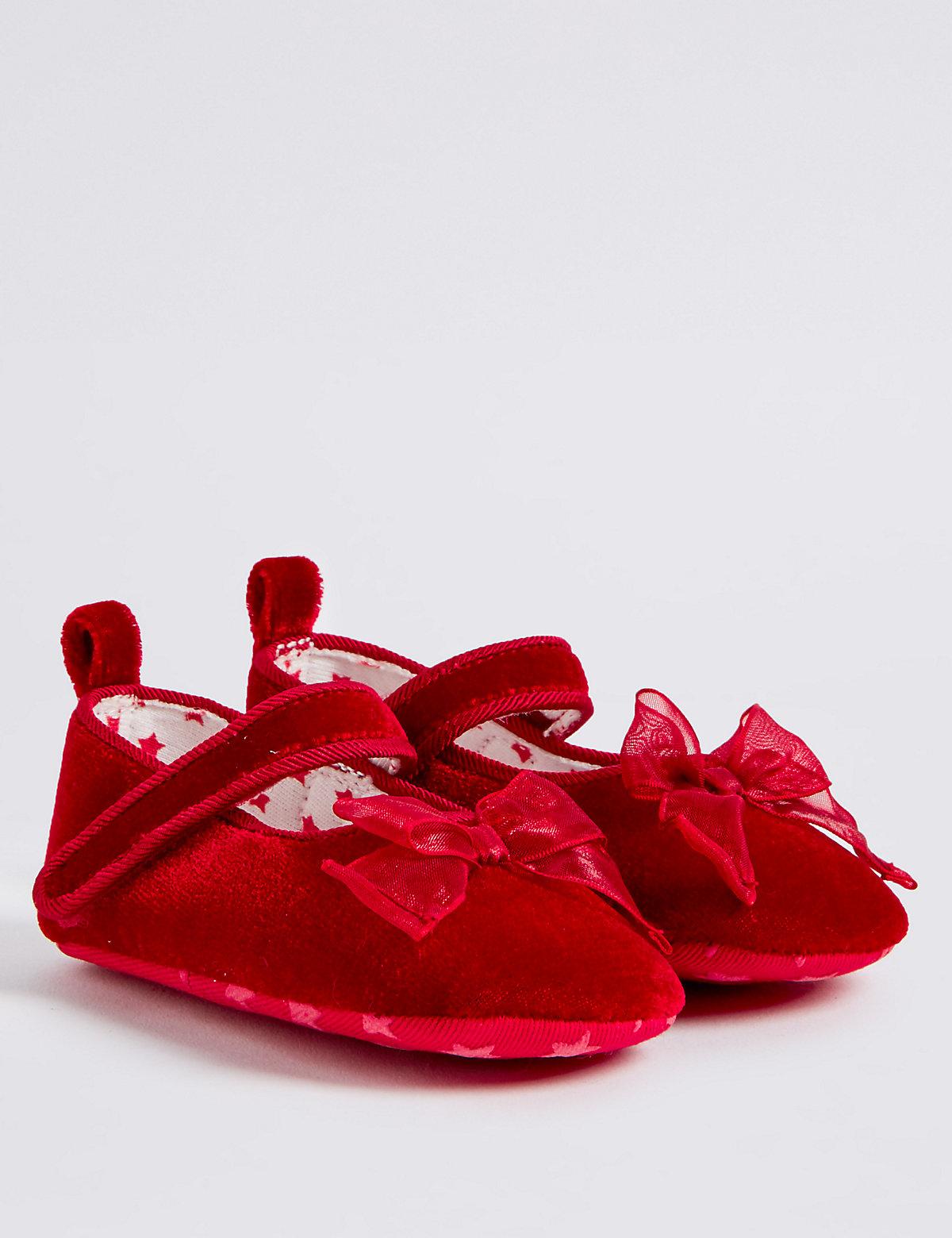 Baby Riptape Pram Shoes
