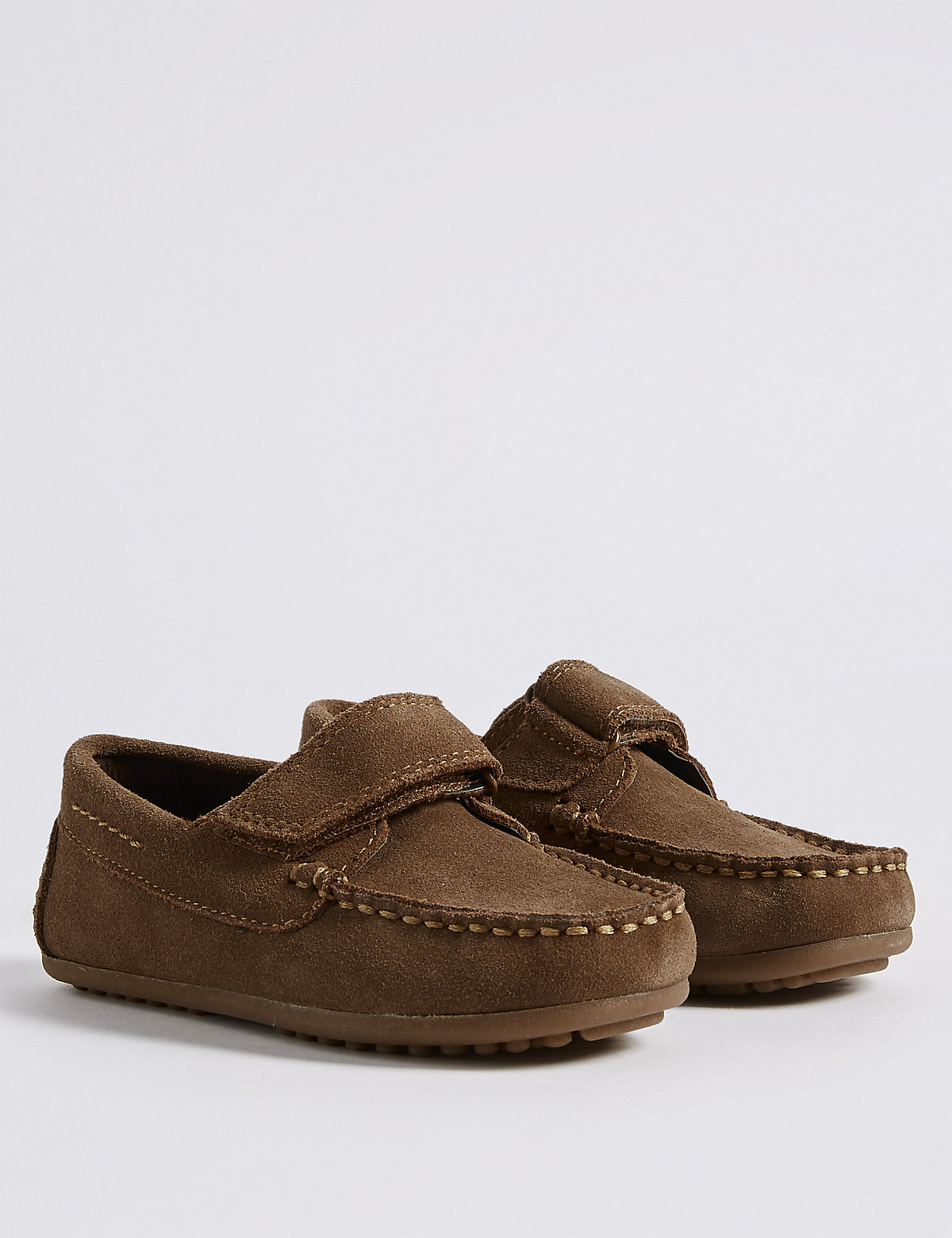 Image of Kids' Suede Driver Shoes