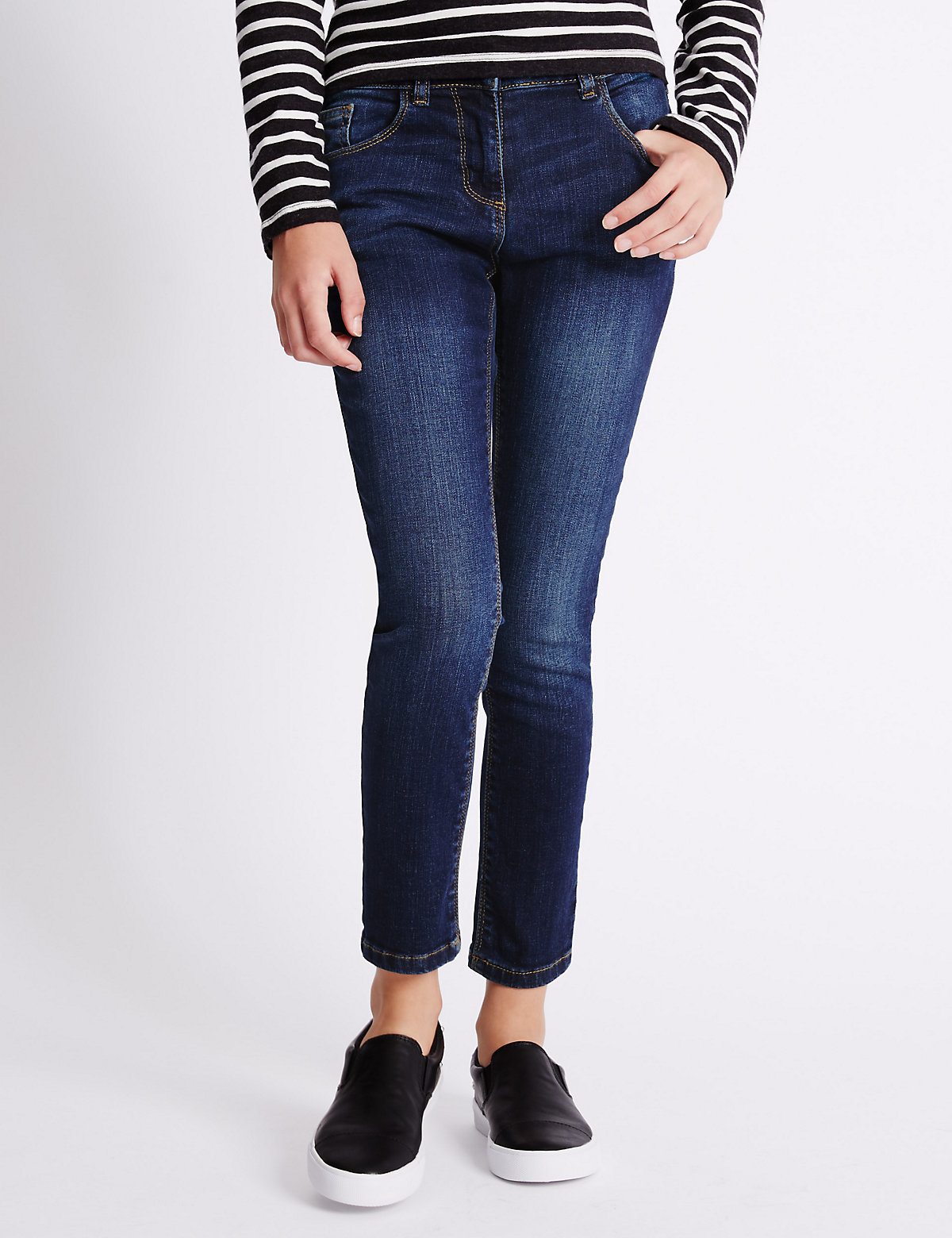 Cotton Rich Skinny Jeans (3-14 Years)