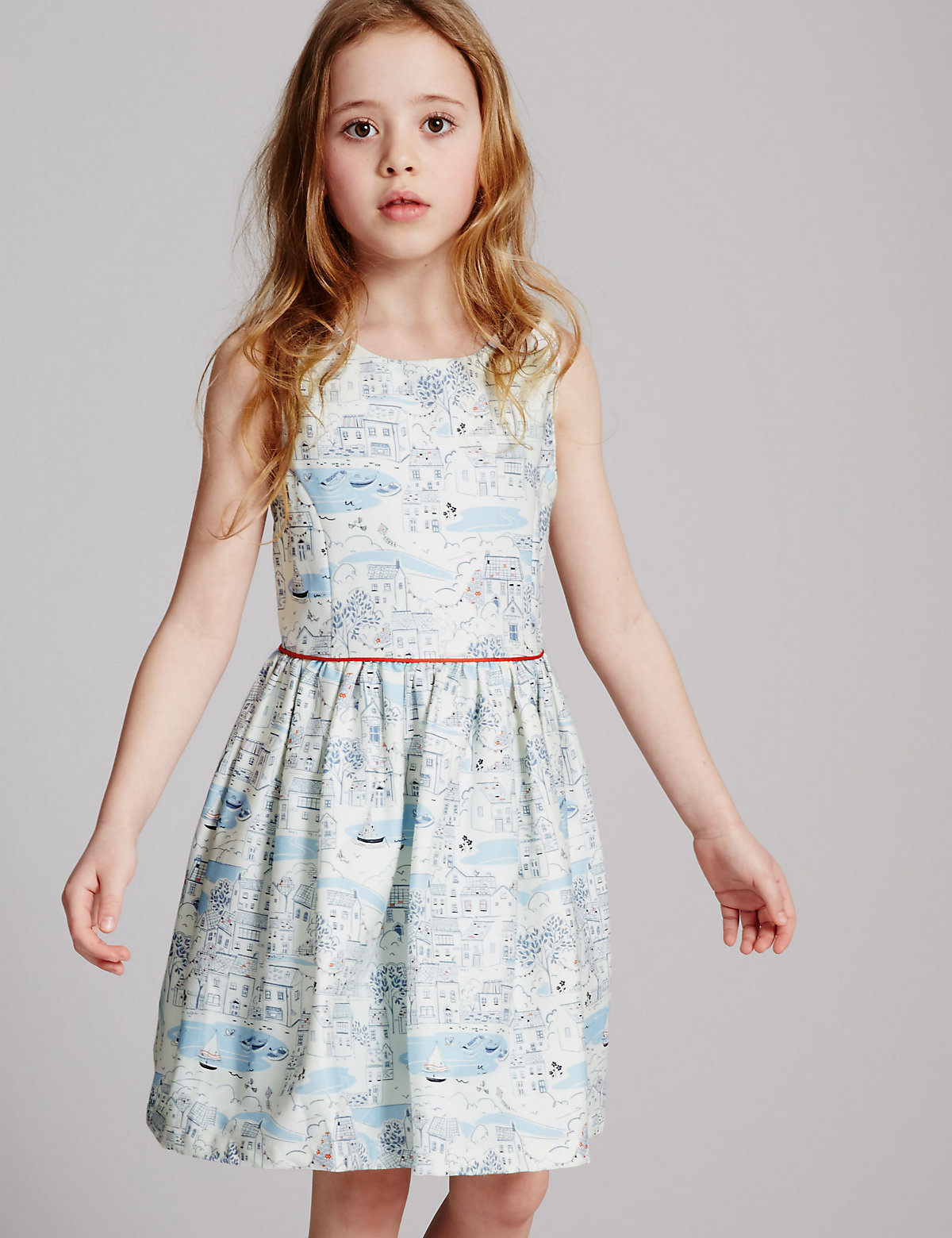 Autograph All Over Print Dress (3-14 Years)