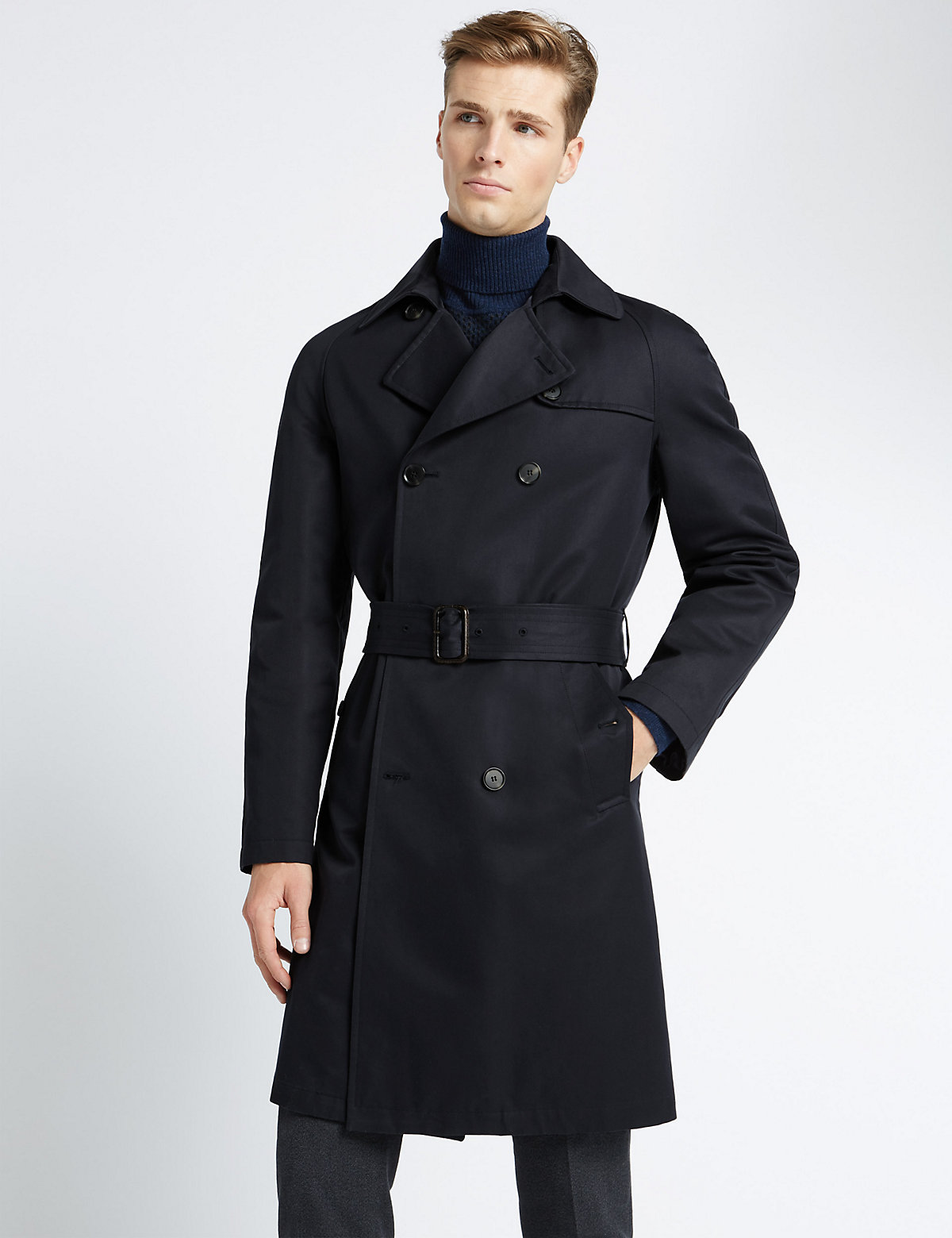 Image of Best of British for M&S Collection Classic Trench Coat