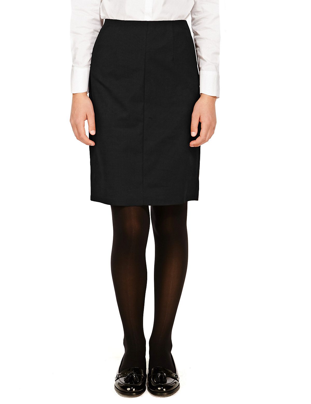 Senior Girls' Crease Resistant Pencil Skirt with Triple Action Stormwear (Older Girls)