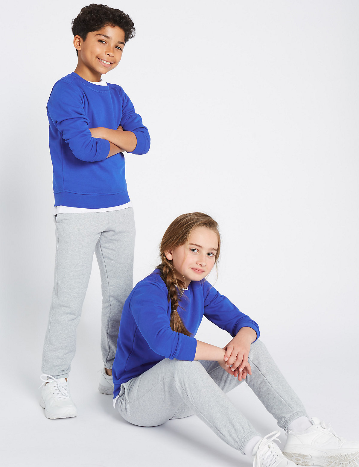 Ribbed Sweatshirt (3-16 Years)