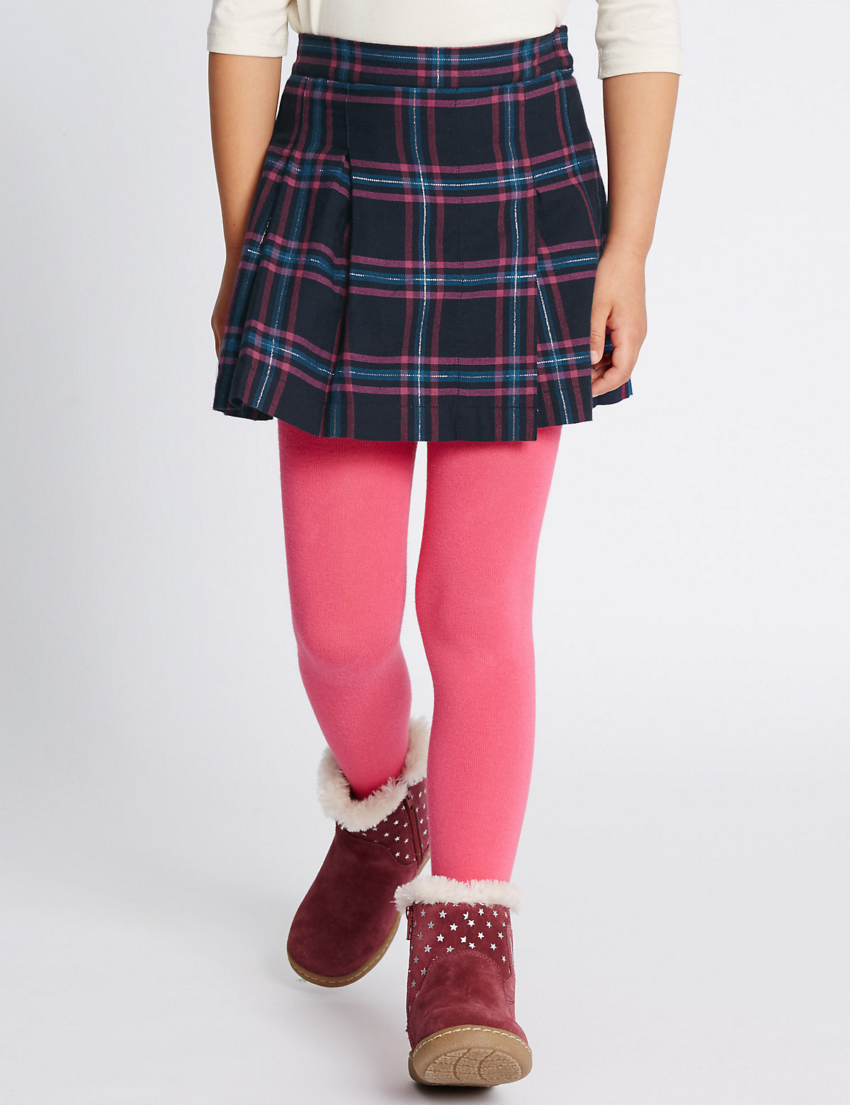 Checked Kilt ALine Skirt (17 Years)