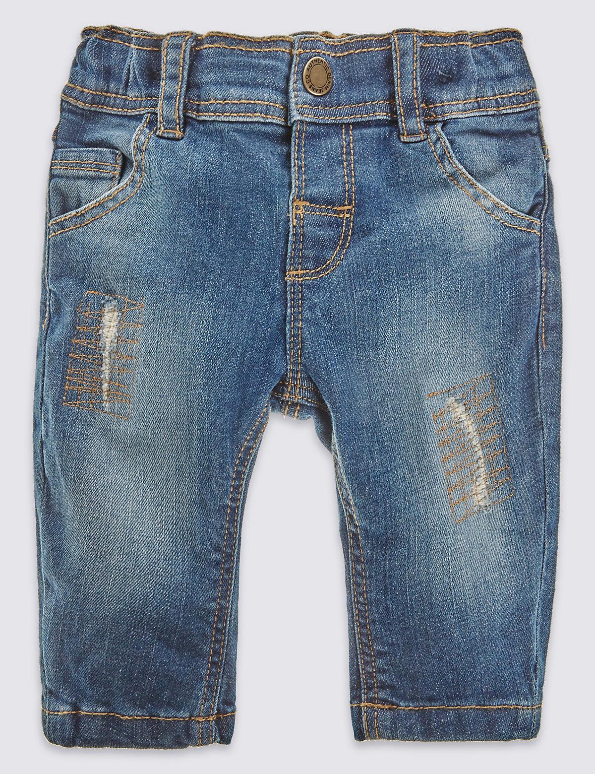 Pure Cotton Fashion Jean