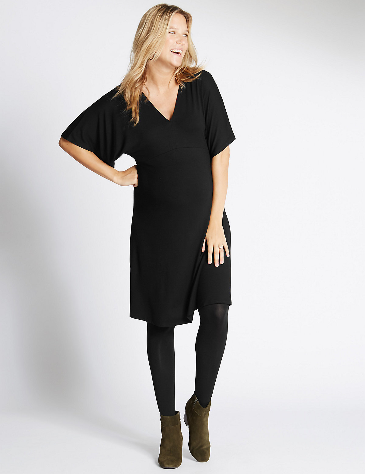 Maternity Batwing Dress