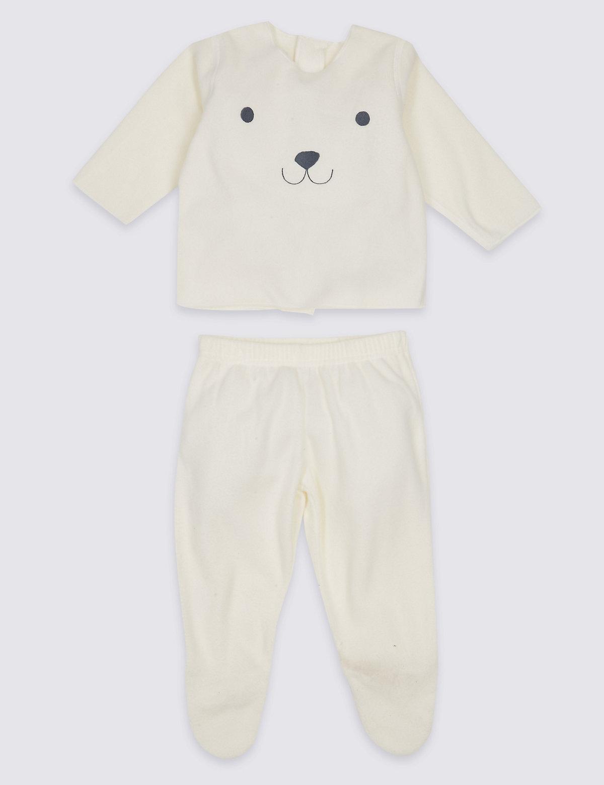 2 Piece Bear Top & Bottom Outfit