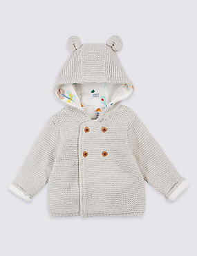 Baby Boy Cardigan & Jumpers | Knitted Cardigan for Baby Boys | M&S NL
