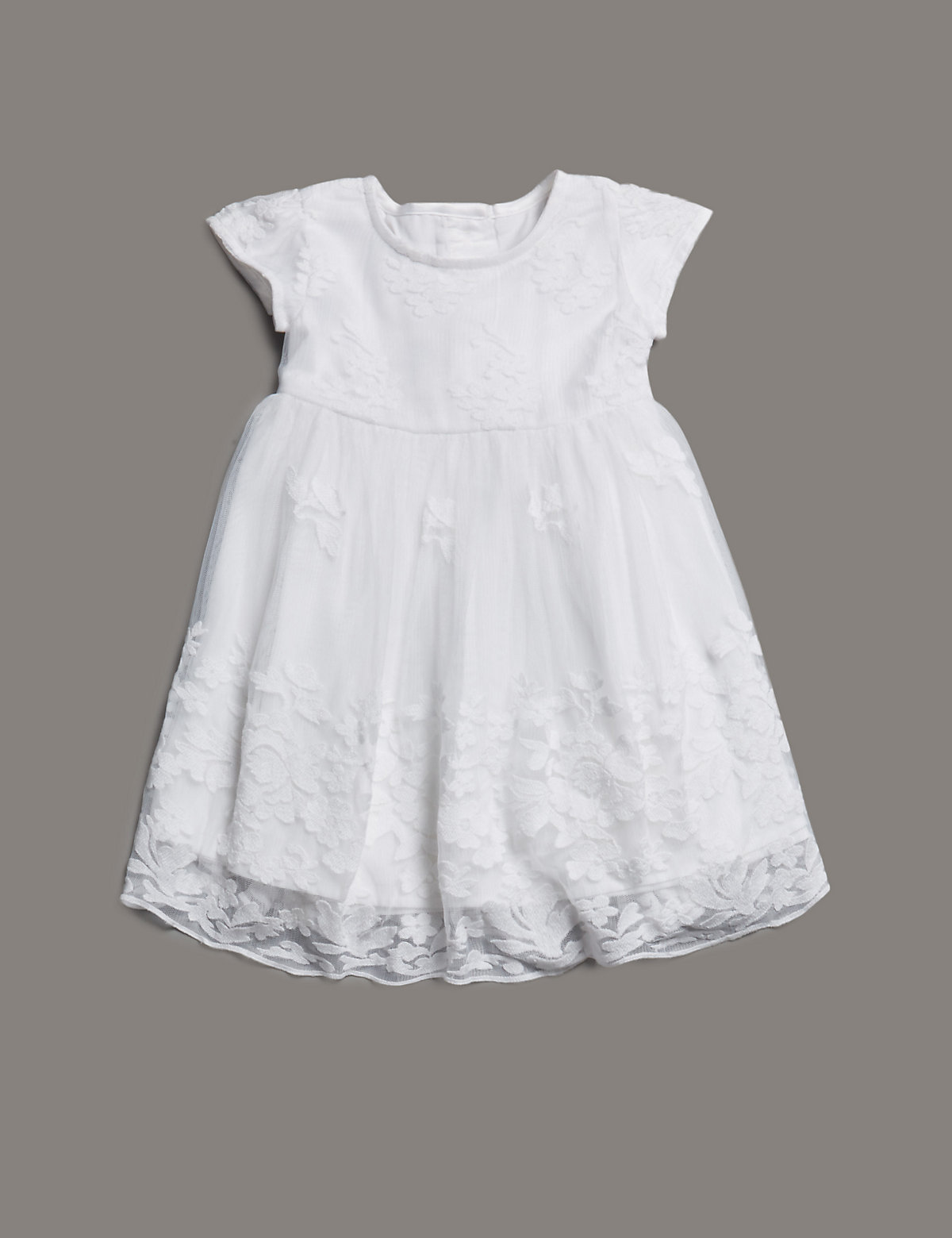 Autograph Lace Christening Dress