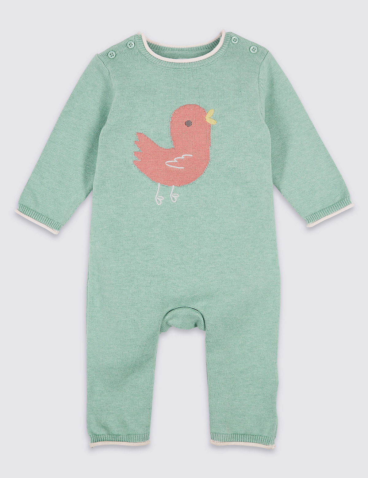 Bird Knitted Pure Cotton All in One