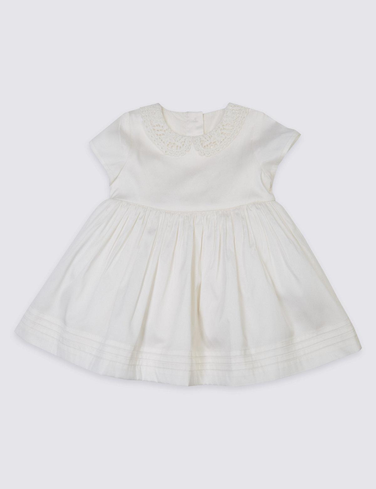 Autograph Peter Pan Collar Christening Baby Dress