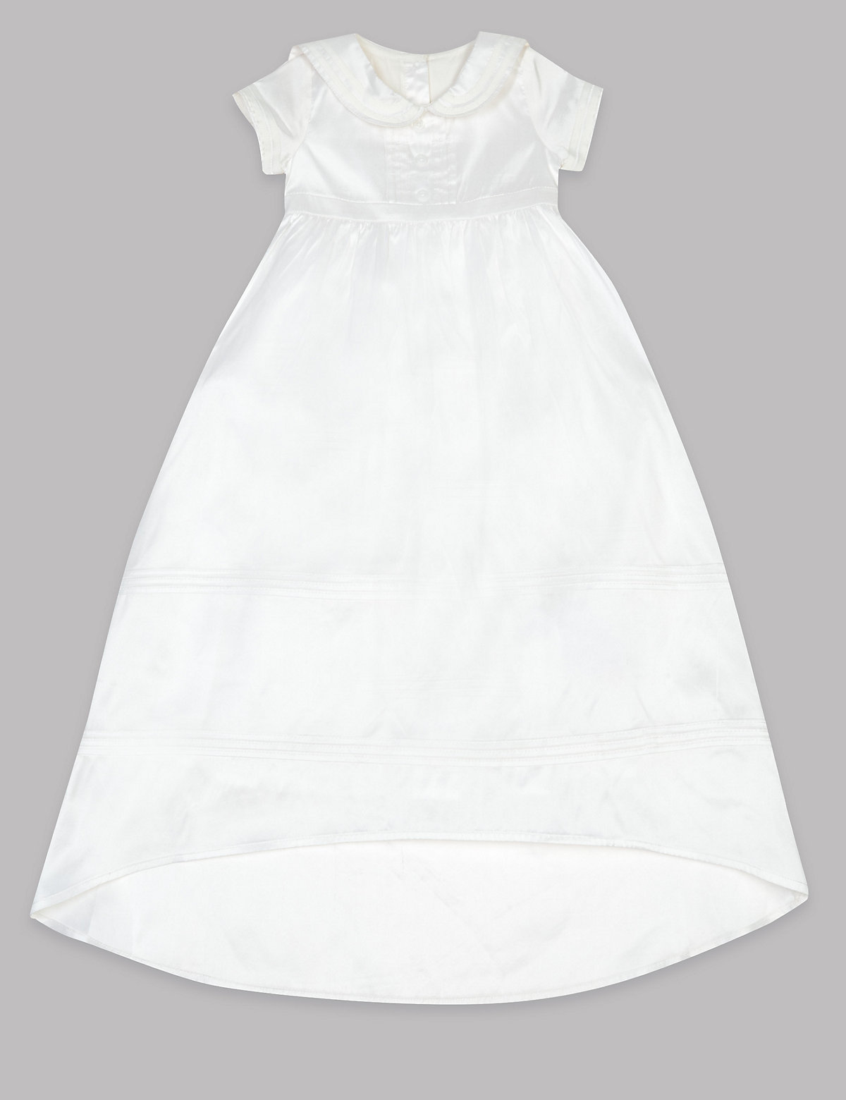 Autograph Pure Silk Christening Baby Dress