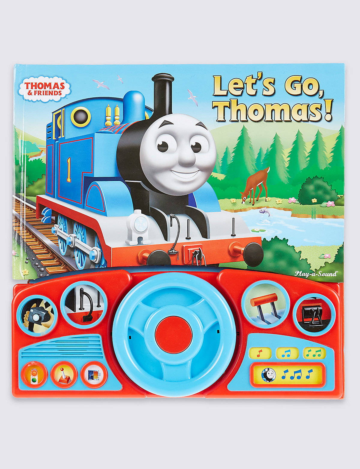 Lets Go Thomas Sound Book