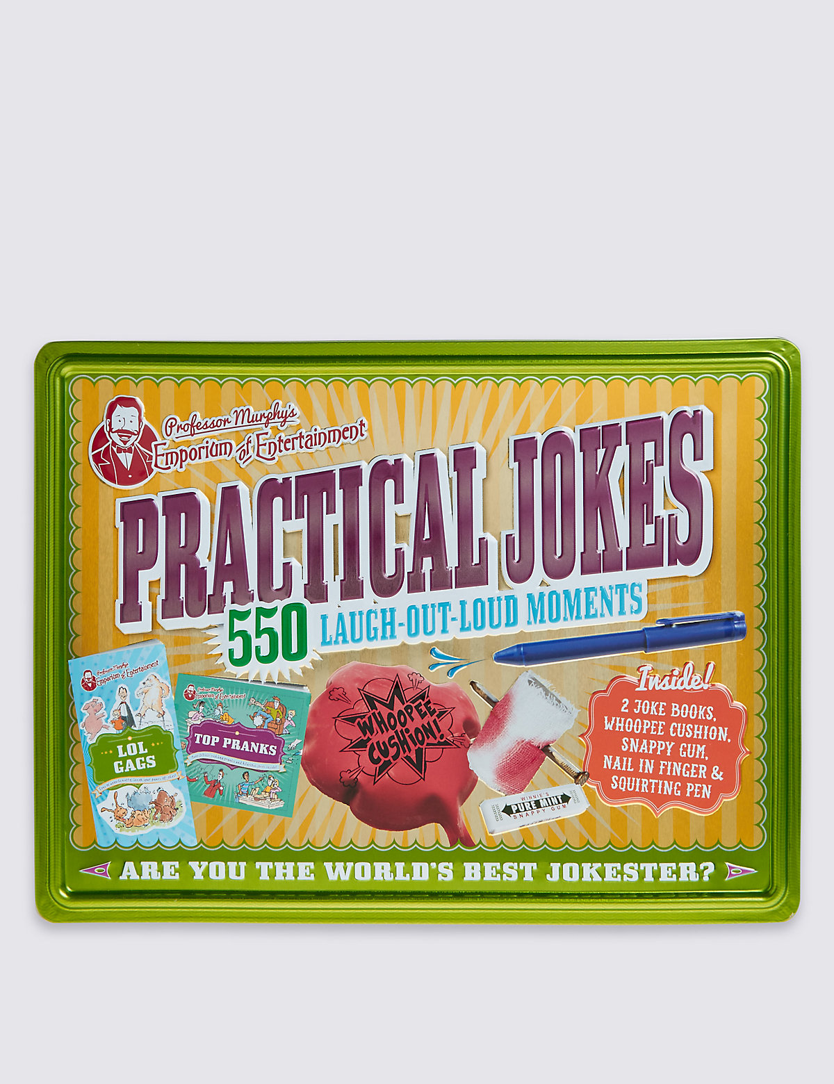 Tin of Practical Jokes