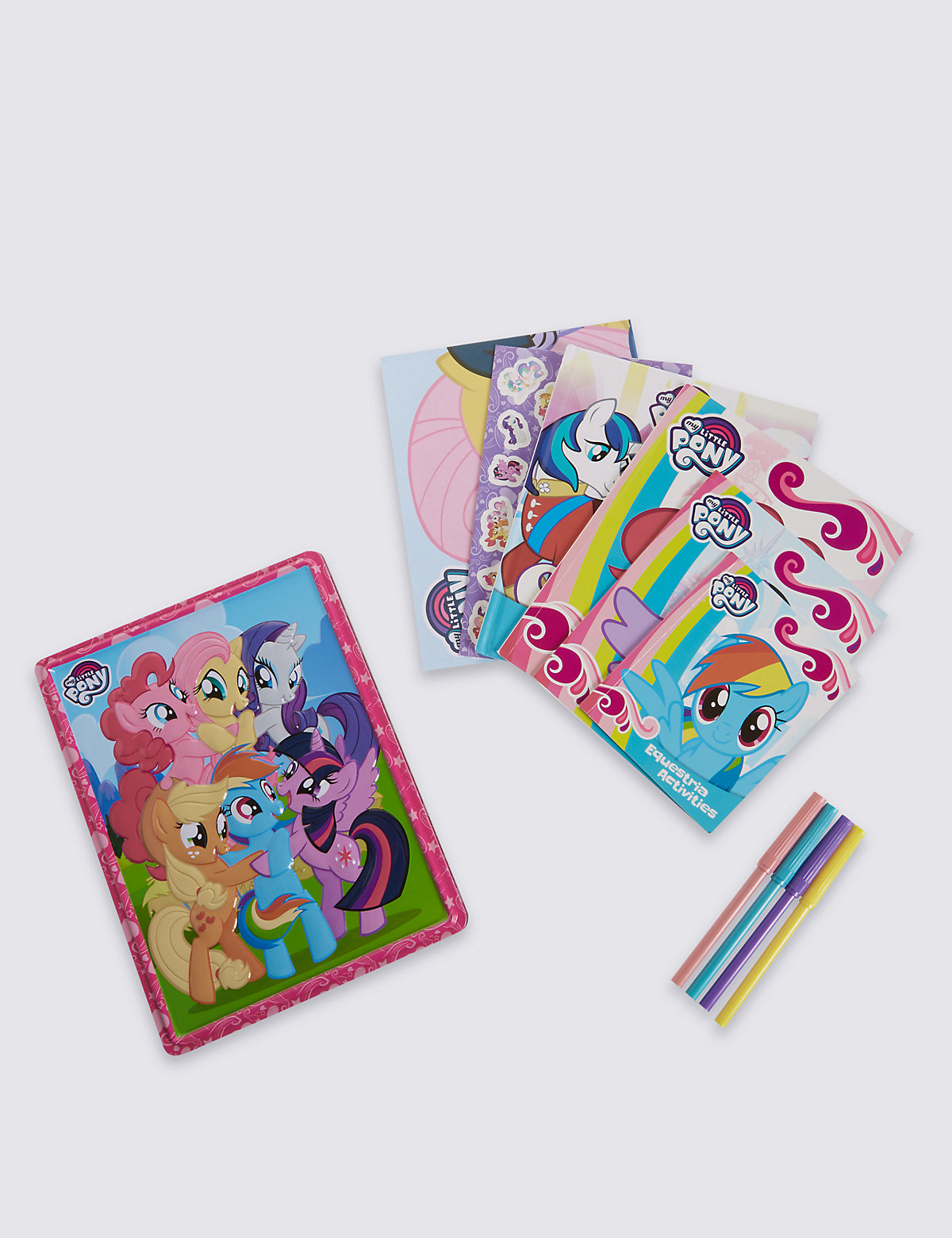 My Little Pony Tin Book