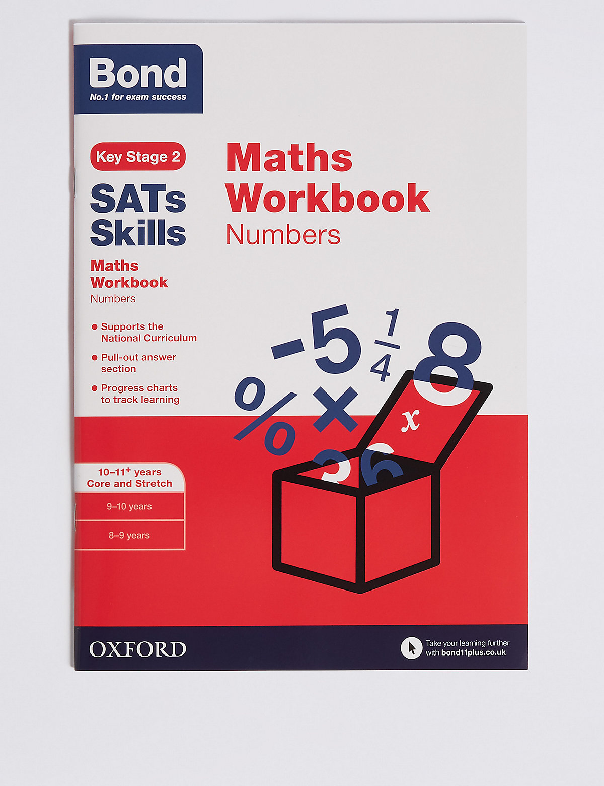 Workbooks key stage 2 workbooks : Bond SATs Skills Maths | Bluewater | £10.00
