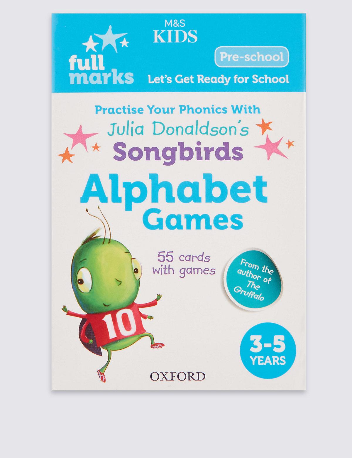 Full Marks Alphabet Games Book
